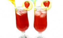 Арбузно-клубничный лимонад