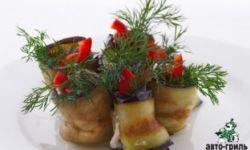 Баклажаны, фаршированные орехами