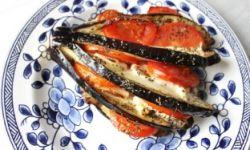 Баклажаны в духовке по-гречески
