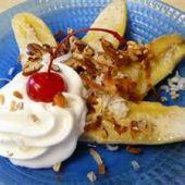 Бананы с ромовым соусом