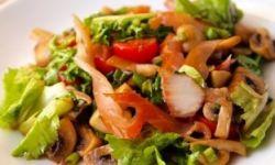 Бельгийский пестрый салат