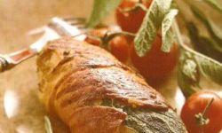 Бутерброд с куриным филе сальтимбокка