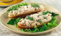 Бутерброды с куриным филе