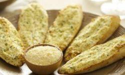Чесночные хлебцы
