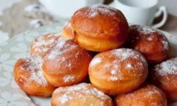 Еврейские пончики с джемом