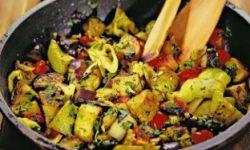 Грузинское овощное блюдо
