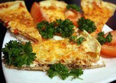 Хлебцы с омлетом