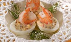 Яйца с острой начинкой