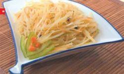 Картофельный салат с сезамовым маслом