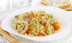 Кольраби с мясом