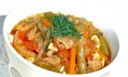 Коурма лагман (основное блюдо)