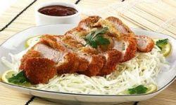 Куриное мясо в соусе Тонкацу