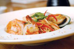 Лапша рамен с морепродуктами