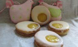 Лимонное пасхальное печенье