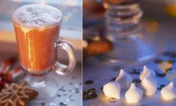 Миндальное какао с безе