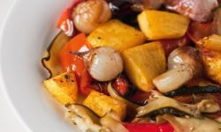 Овощи тушеные в духовке