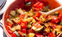 Овощная запеканка для вегетарианцев