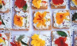 Паста изцветков настурции для бутербродов