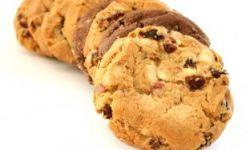 Печенье с орехами и клюквой