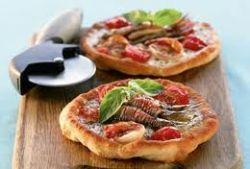 Пицца фритта с морепродуктами