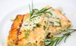 Рыба запеченная по-гречески