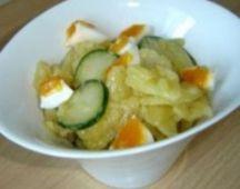 Салат из огурцов, картофеля и яиц