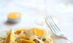 Салат с тунцом и фетой