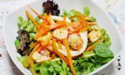 Сельдерей с морепродуктами