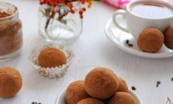 Шоколадно-миндальные трюфели