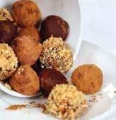Шоколадные трюфели с ромом