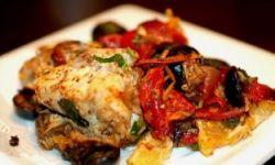 Сибас под соусом по-мароккански