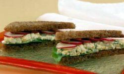 Сэндвичи яичные