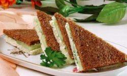 Сэндвичи с огурцами