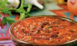 Соус из печеных томатов и чеснока