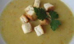 Суп-пюре из чечевицы с цветной капустой