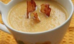 Сырный суп с цветной капустой