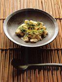 Тофу под соусом из шисо