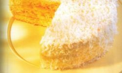 Торт с кокосовым орехом и лаймом