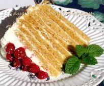 Тыквенно-медовый торт