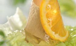 Заливной окорок с апельсинами
