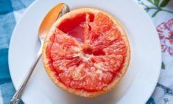 Запеченнный грейпфрут