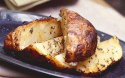 Запеченный ароматный картофель