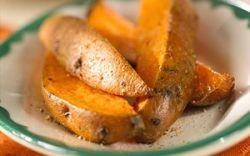 Запеченный картофель с молодым чесноком и мятой